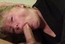 Throat fuck and cum